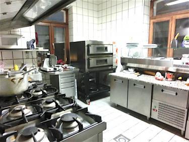 Restaurant-Küche